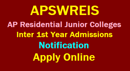 APSWREIS Admission Notification for Inter Ist Year 2020 Apply Online @jnanabhumi.ap.gov.in /2019/12/APSWREIS-Admission-Notification-for-Inter-Ist-Year-2020-Apply-Online-at-jnanabhumi.ap.gov.in.html