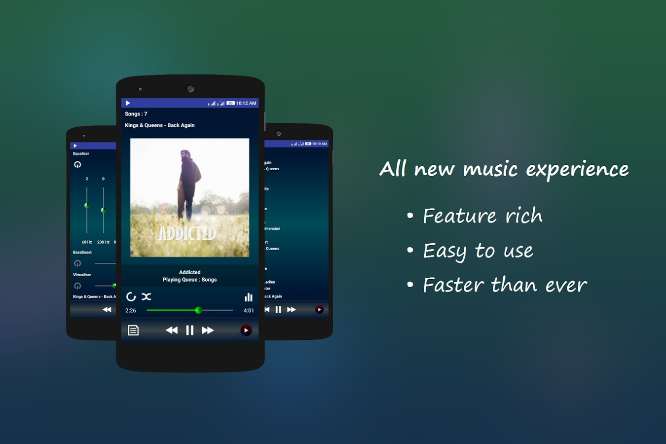 PowerAudio Pro Music Player v3.0.2 [Paid] APK