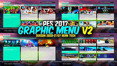RT Graphic Mods PES 2021