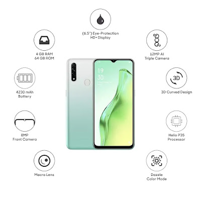 OPPO A31 Full Specification   OPPO A31 Price in India 2020 - 360TECHNOWORLD