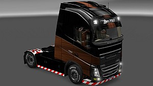 Wooden skin for Volvo 2013