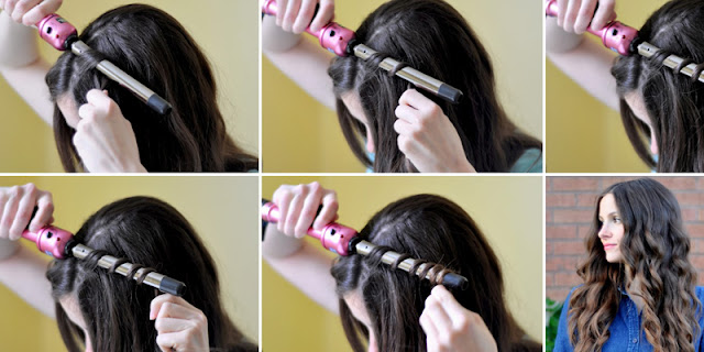 How To Create Easy Wavy Hairstyle, See Tutorial