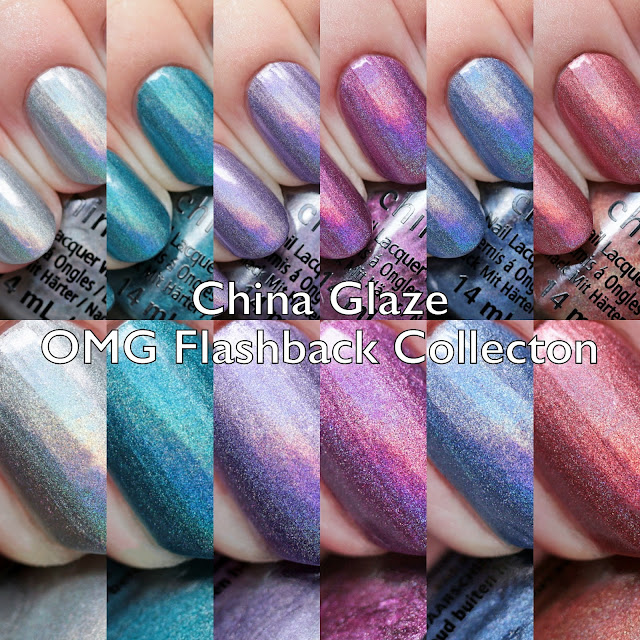 China Glaze OMG Flashback Collection