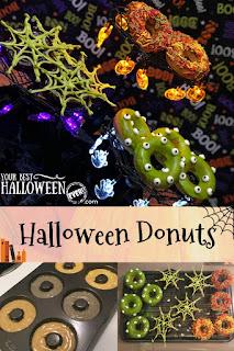 easy halloween baked donuts recipe
