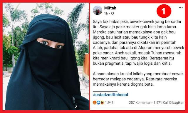 Miftah bukan Ustadz