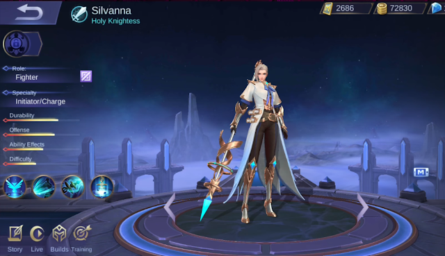 Analisis Skill dan Build Item Hero Crush Gear Silvanna Mobile Legends