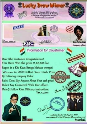 KBC Frauds: How to Prevent being Victims Of KBC Frauds?