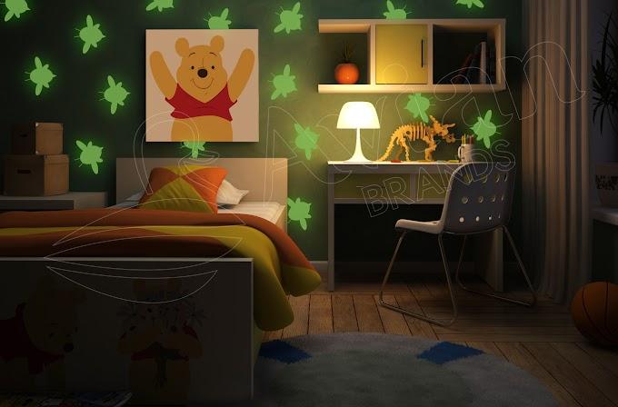 Avian Brands Disney Ciptakan Nuansa Glow in the Dark di Kamar Anak