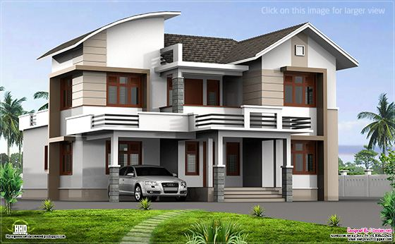 Modern mix home design