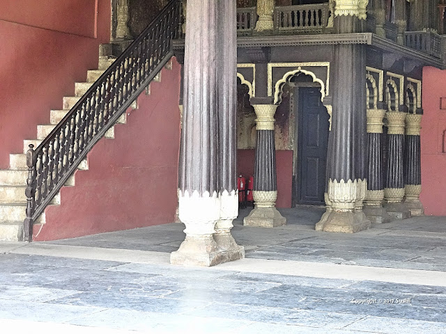 Front Side Stairs of the Tipu Sultan's Summer Palace