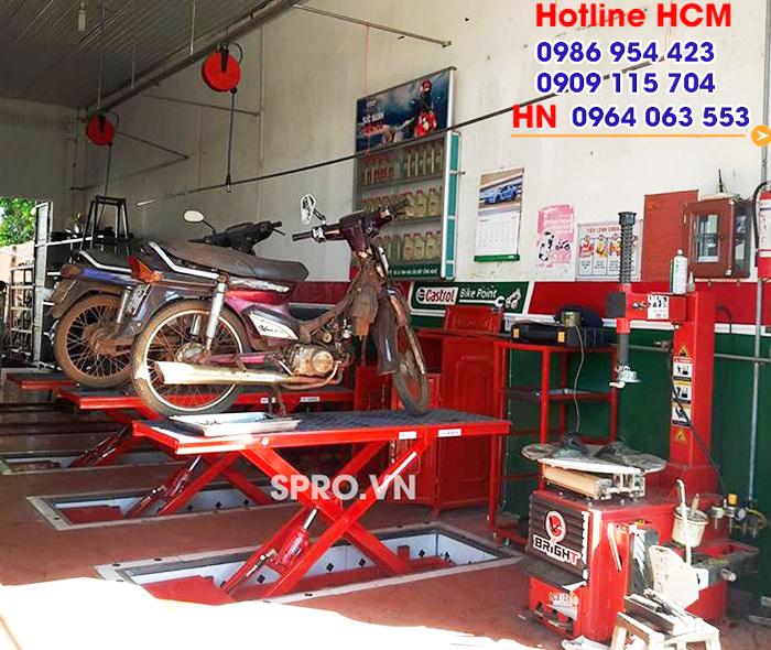 spro.vn Tư vấn lắp đặt thiết bị sửa xe máy chuyên nghiệp