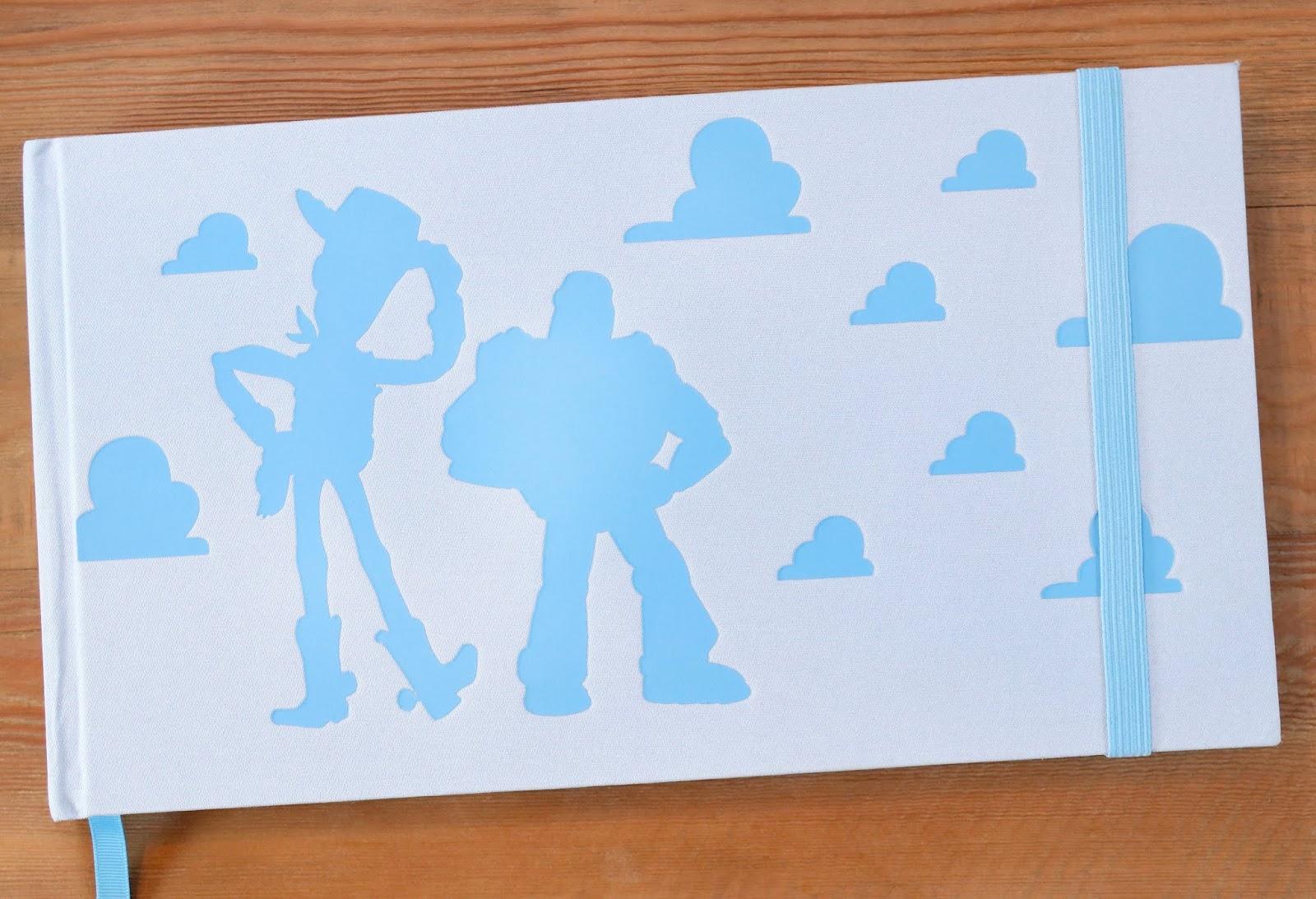 d23 expo 2019 pixar backstage toy story sketchbook