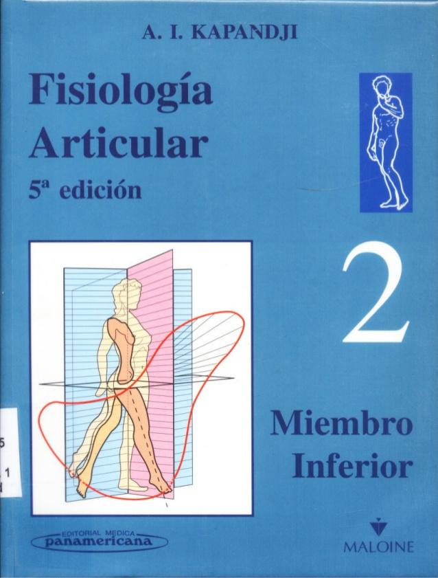 Fisiologia articular Mienbro Inferior A.I KAPANDJI | Libros ...