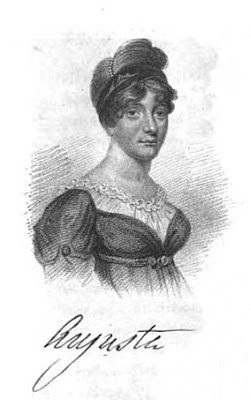 Princess Augusta Sophia  from A Biographical Memoir of Frederick,   Duke of York and Albany by John Watkins (1827)