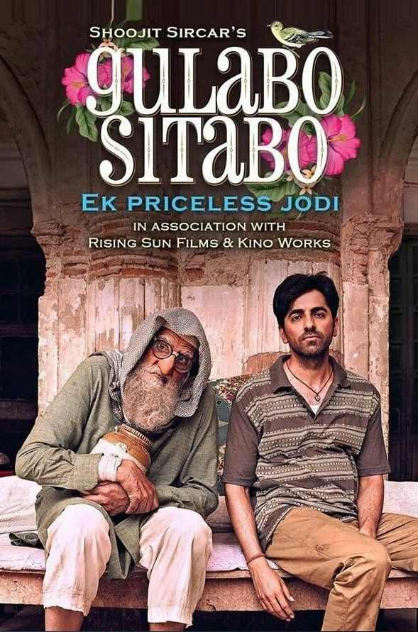 Gulabo Sitabo 2020 WEB-DL 350MB Full Hindi Movie Download 480p