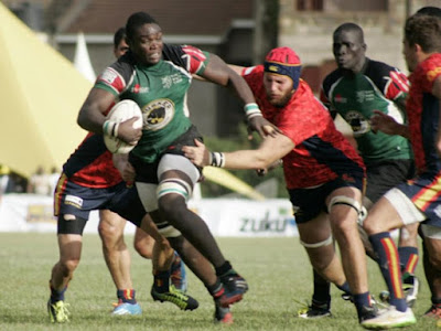 Mike Okombe a rugby player. PHOTO | FILE