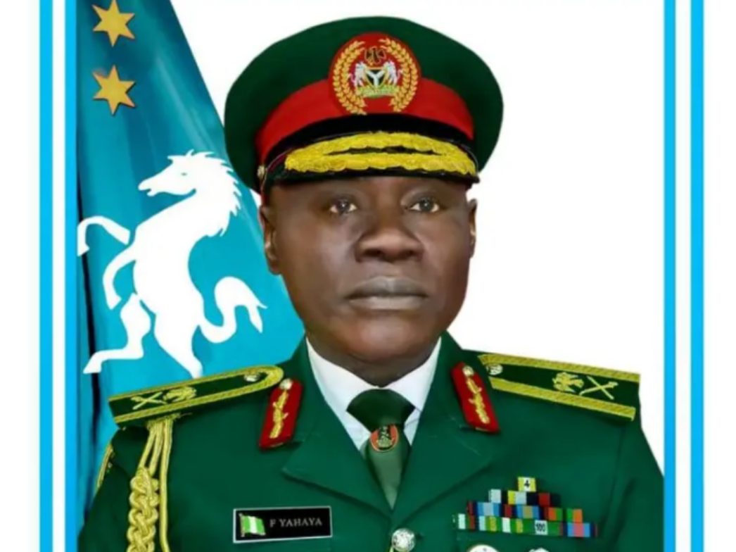 BREAKING: Buhari Appoints Major General Farouk Yahaya As New Chief 0f Army Staff