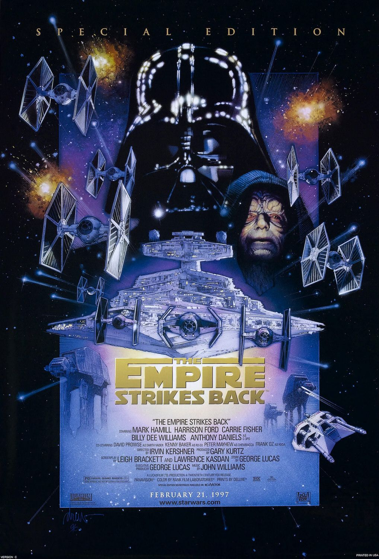 gwiezdne wojny imperium kontratakuje film recenzja plakat george lucas