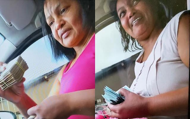 Vazam fotos da Vereadora Edite do Postinho recebendo suposta propina pelo voto na eleição da presidência da Câmara de Escada