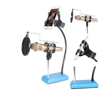 supporto studio microfono e cellulare kh-40