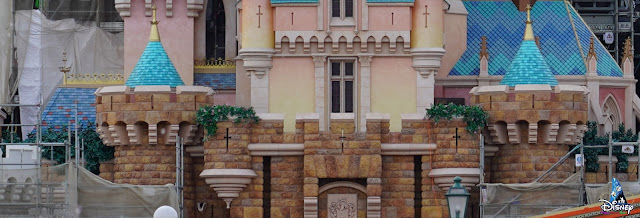 奇妙夢想城堡, Castle of Magical Dreams, 香港迪士尼樂園, Hong Kong Disneyland, HK, Construction Update, Disney Magical Kingdom Blog, HKDL, Disney Castle