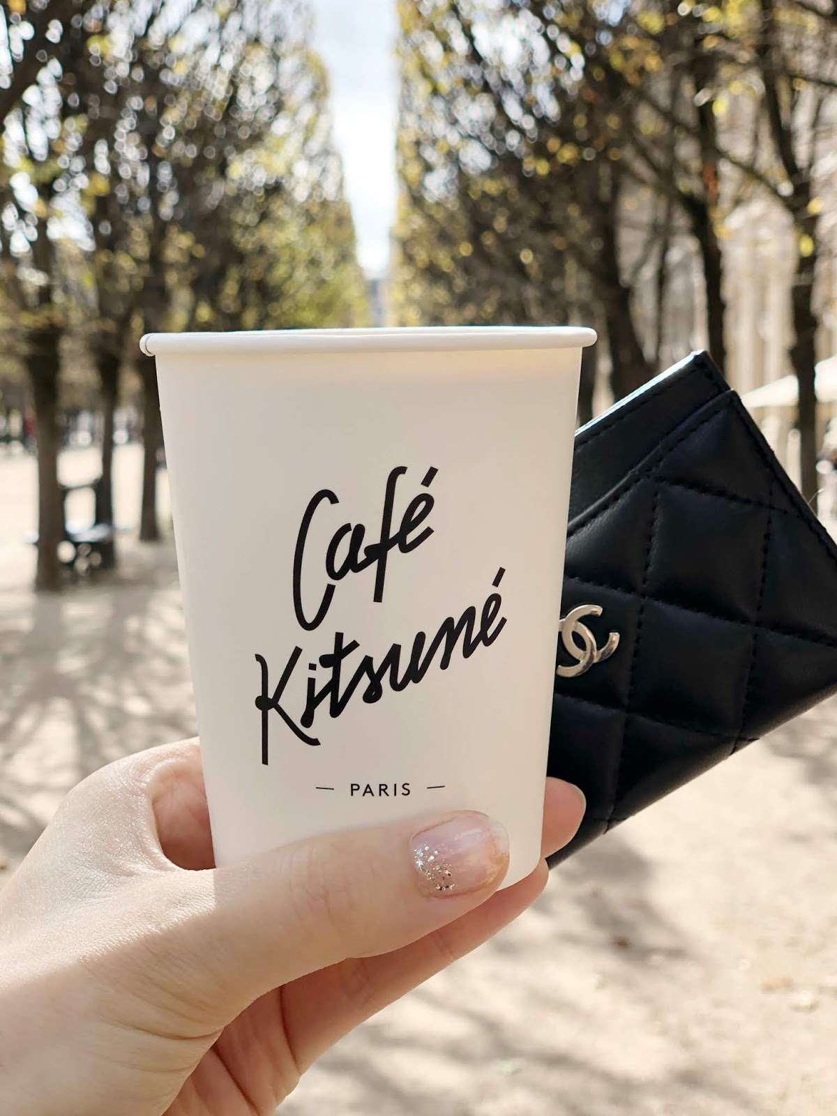 Café Kitsune, Paris in Autumn, Fall in Paris, Coffee, Palais Royal, Chanel Card Holder, City Guide, Paris City Guide, missvoguevoyage, Patricia petit, photography, Paris, Paris vibes, Paris style, lifestyleblogger, travel diaries
