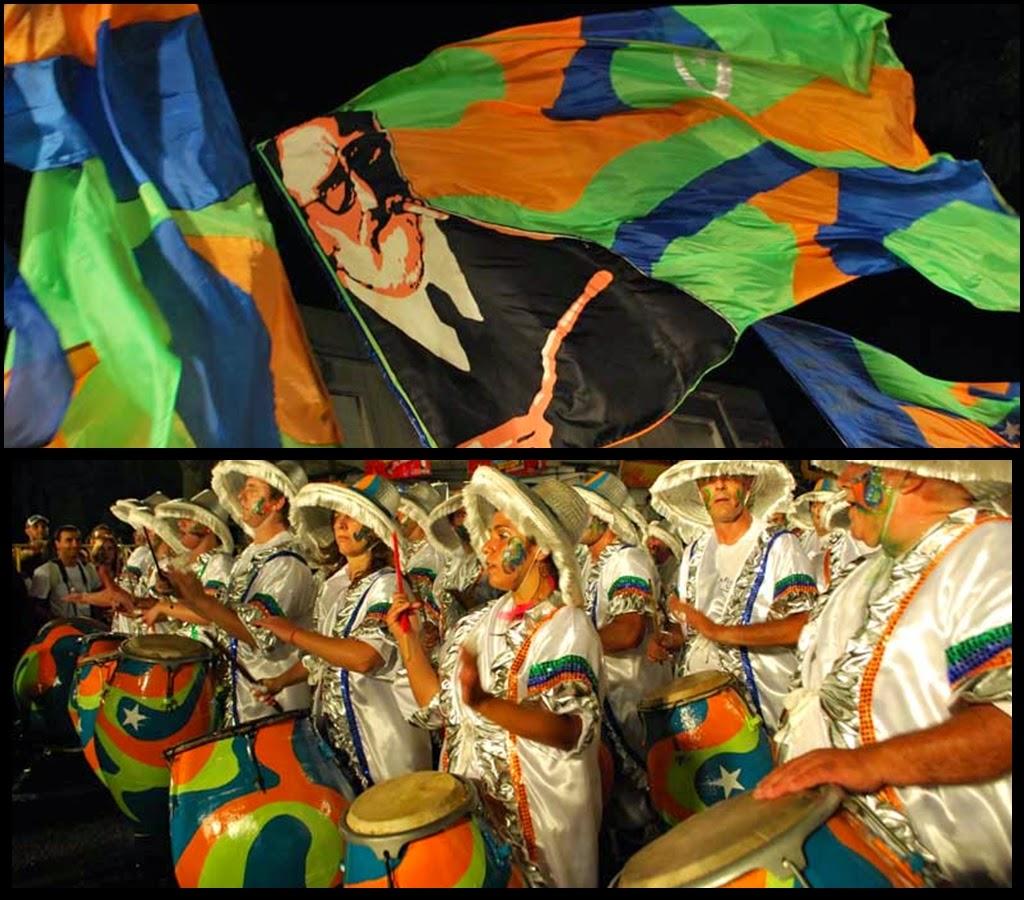 Desfile de Llamadas.La Figari. Montevideo. 2011.