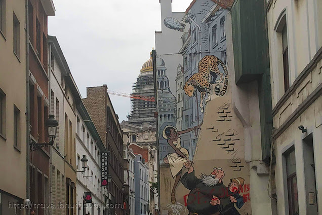 Brussels Comic Strip Walk