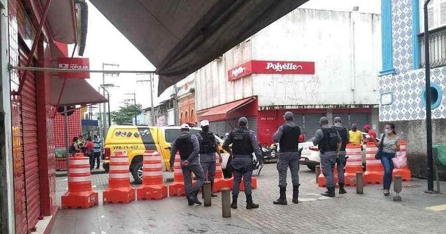 Governo do estado bloqueia Rua Grande na manhã desta quinta-feira ...