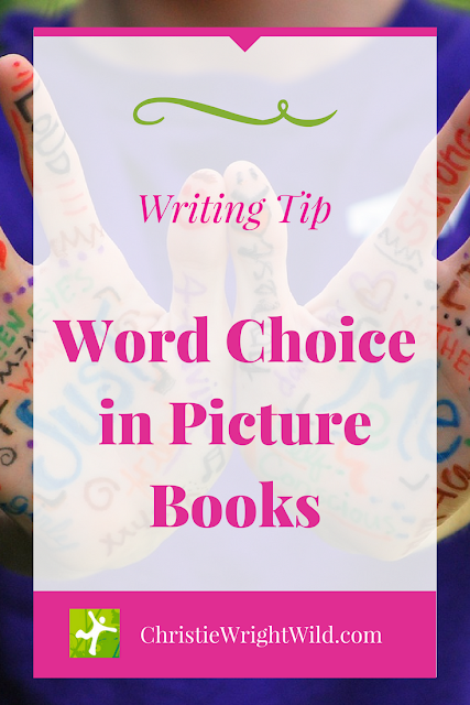 Word Choice in Picture Books || reading lists | vocabulary for children | word lists | how to write for children | vocabulary in picture books