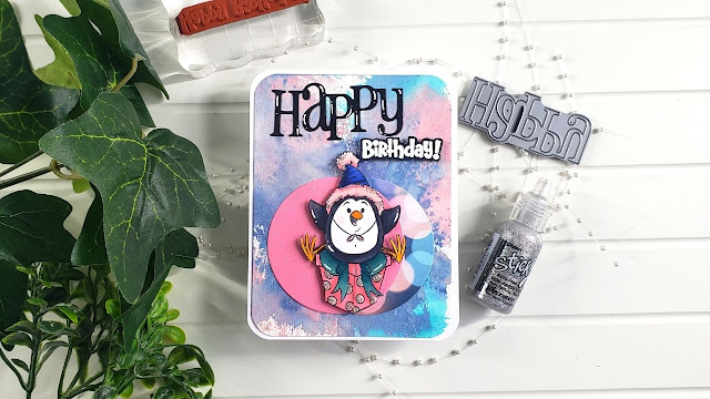 Happy Birthday Penguin Is The Cutest! Whimsy Stamps
