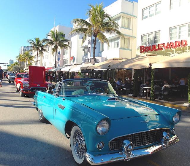 veteranbilar i Miami Beach