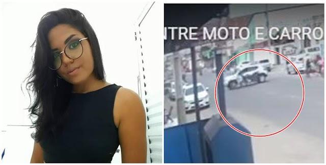 Vídeo mostra momento do acidente que matou jovem no Piauí