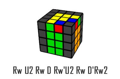 last 2 edges 4x4x4 cube - 4