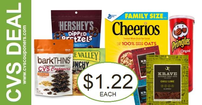 Save Big On Snacks at CVS