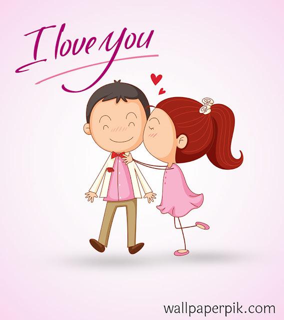 i love you cartoon image आई लव यू वॉलपेपर