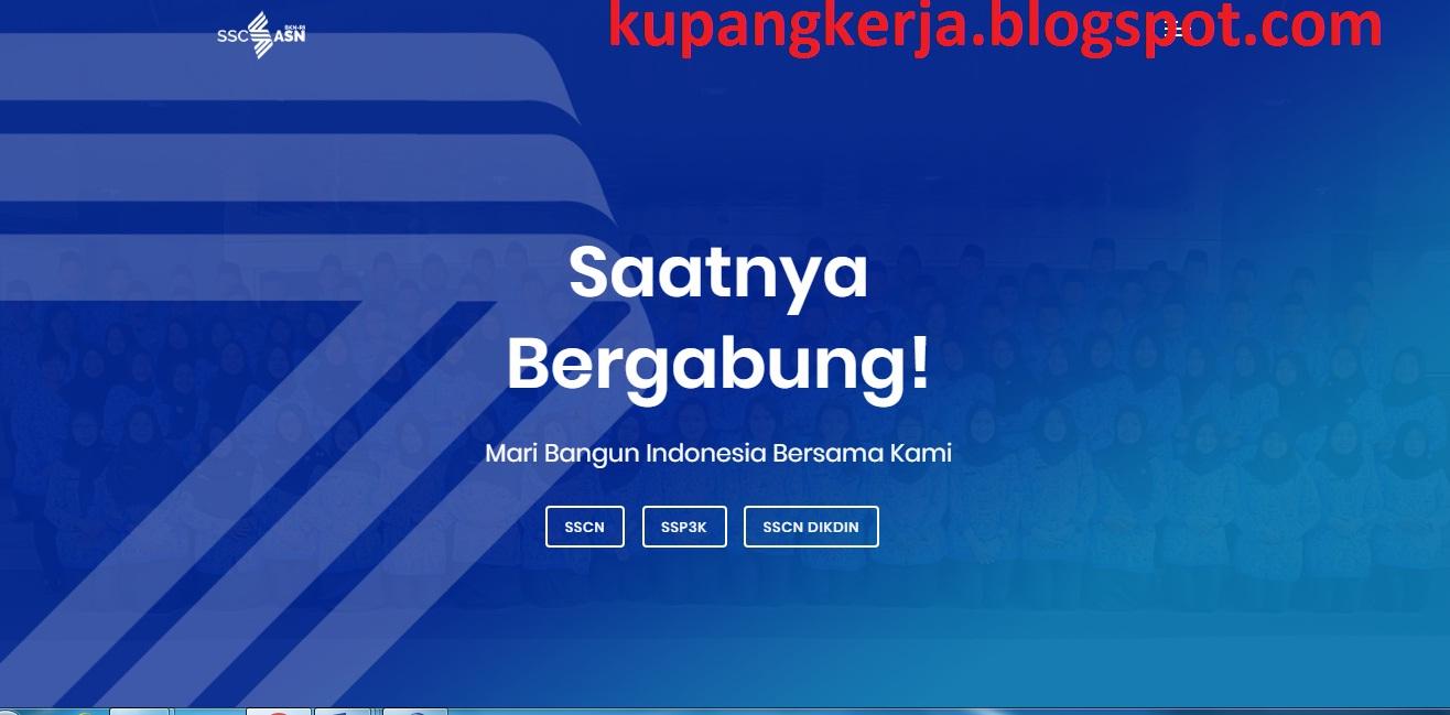 DAFTAR USULAN / FORMASI CPNS 2021 KEMENTERIAN/LEMBAGA DAN ...