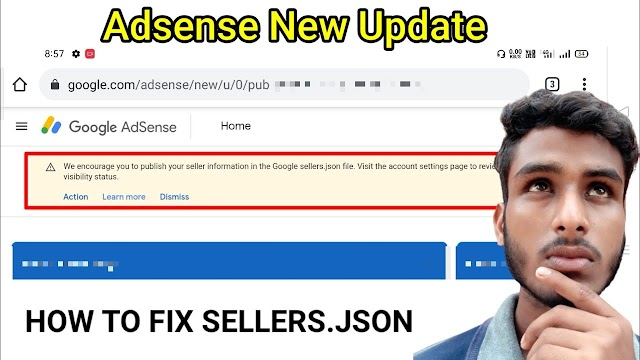 How to fix sellers.json in Adsense