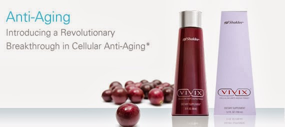 Vivix adalah formula terbaik untuk anti-penuaan dan awet muda serta anti kanser