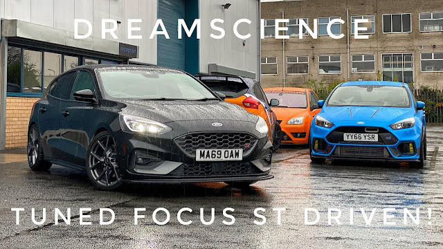 【鍵盤車訊】樸實無華,但熱血的性能鋼砲 --- Ford Focus ST225 - 知名改裝品牌 DreamScience