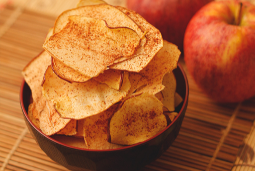 Receita de Chips de Maçã | Blog Vida Saudável
