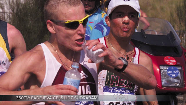 Айгар Фадеев (Aigars Fadejevs) олитмпиец сборной Латвии