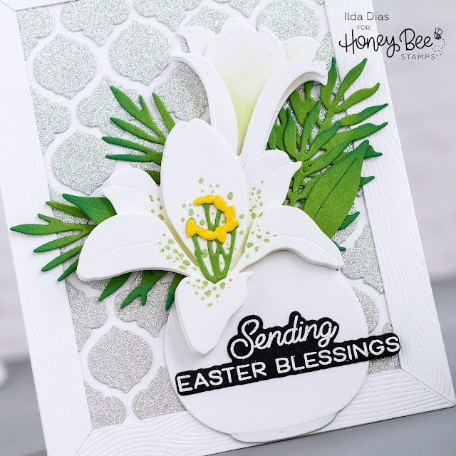 Quatrefoil Cover Plates,Easter Lily Dies,Honey Bee Stamps,Spring Bliss,sneak peeks,Wood Frame,Card Making, Stamping, Die Cutting, handmade card, ilovedoingallthingscrafty, Stamps, how to,