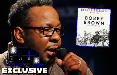 "Bobby Brown Releases New Book ""Every Little Step"""