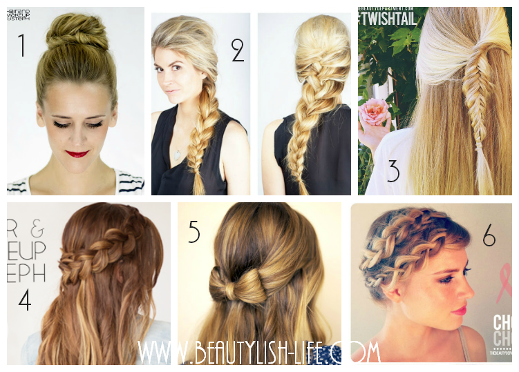 Beautylish Life : Favorite back to school hairstyles easy ...