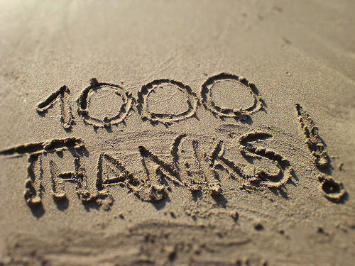 1000 Visits... Thank you!