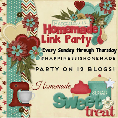 Happiness is Homemade Link Party 197. A great place to share the best of home decor, holiday inspiration, tablescapes, and recipes. BlueskyatHome.com