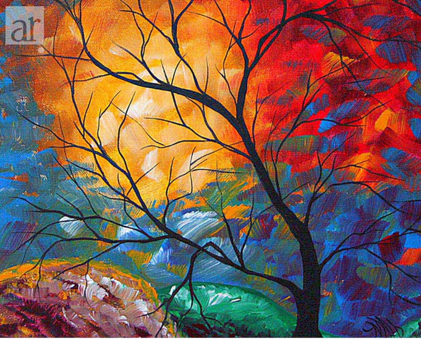 Cuadros modernos pinturas y dibujos cuadros modernos - Fotos cuadros abstractos ...