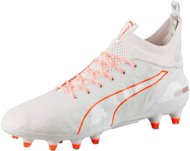 2337149d5e22c8 White   Orange Puma evoTOUCH 2016-17 Boots Released - CR7 Gold