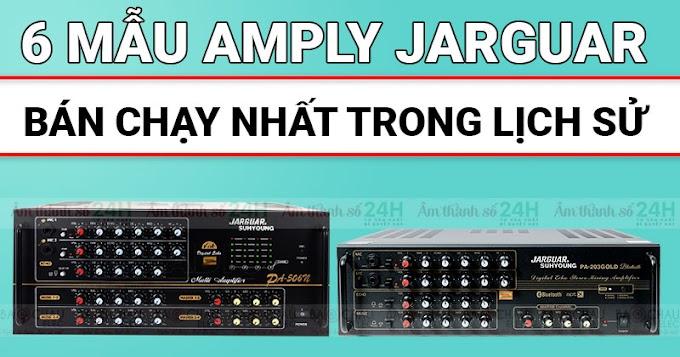 Điểm danh 6 mẫu Amply Jarguar bán chạy nhất trong lịch sử